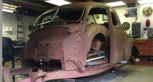 Bill Tinney - 1937 Ford Coupe