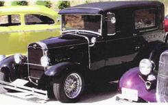 gordon bradley 1928 Model A tudor