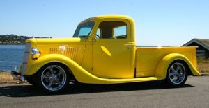 mike roy - 35 ford pickup
