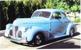 Pearce -1940 Chevrolet coupe