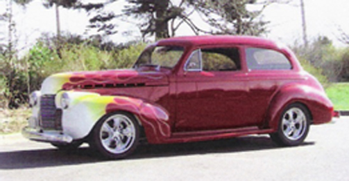 Brieland 1940 Chevrolet Tudor