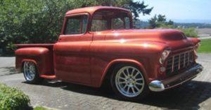 darrel hanson - 55 chev pickup