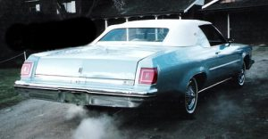 pete saegbrecht 1975 olds convertible